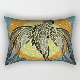 Shadow Phoenix Rectangular Pillow