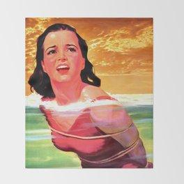 Beach Blanket Bondage Throw Blanket