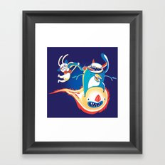 Monsteroid! Framed Art Print