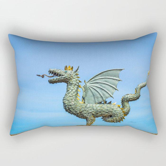 Dragon Zilant Rectangular Pillow