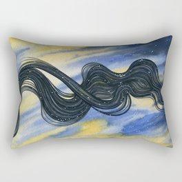 Becoming Night Rectangular Pillow