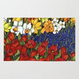 Spring Tri Color Rug