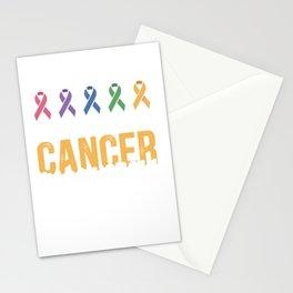 I support cancer awareness Stationery Cards