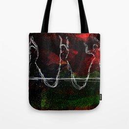 Belly Dancing symbolic art Tote Bag