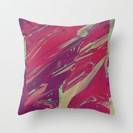 Blazing Marble 01 Throw Pillow