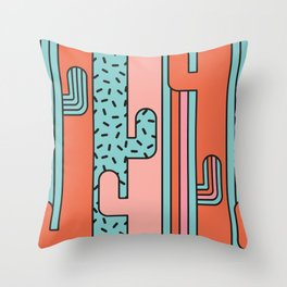 EL CACTO (PRINT) Throw Pillow