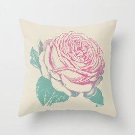 rosa rosae rosarum Throw Pillow