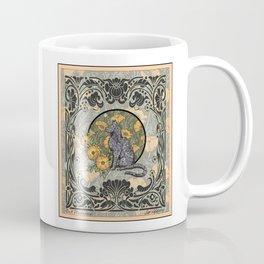 Cat Nouveau Coffee Mug
