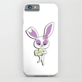 Be Love Bunny iPhone Case