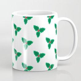 Mistletoe - green and red Coffee Mug