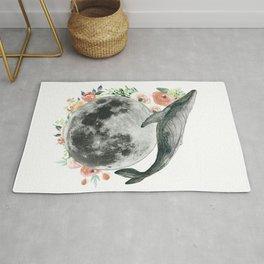 Moon Whale Rug