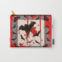 FREAKING HALLOWEEN BLOODY BAT PARTY Carry-All Pouch
