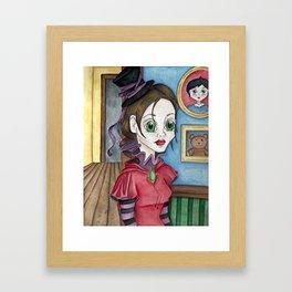 Little Miss Grows Up Framed Art Print