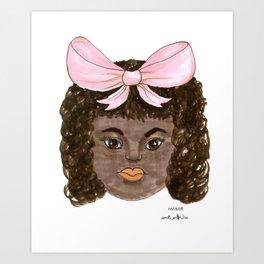 INKTOBER D13: NEW ENERGY CHILD Art Print