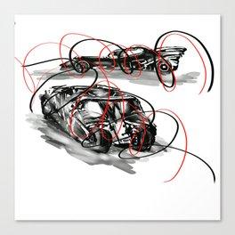 Super cars!! Canvas Print