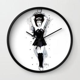 """Little Black Dress"" Wall Clock"