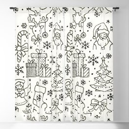 Simply Christmas Blackout Curtain