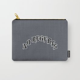 NO REGERTS — misspelled tattoo Carry-All Pouch