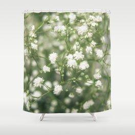 Gypsophila Shower Curtain