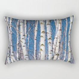Birches 26 Rectangular Pillow