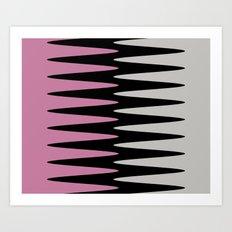 Vibrational Art Print