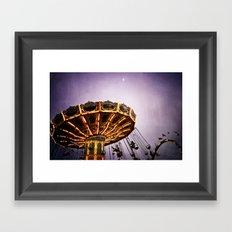 Thrill Seeker Framed Art Print