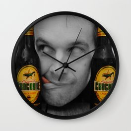 Beer Monster Wall Clock