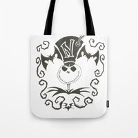 jack Tote Bags featuring Jack by Andready