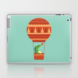Dragon On Hot Air Balloon Laptop & iPad Skin