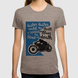 Hunter S. Thompson Moto Girl  T-shirt