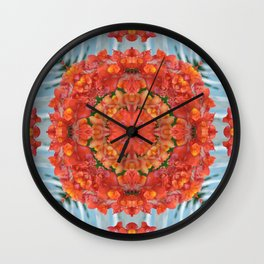 Mandala to Achieve Freedom Wall Clock