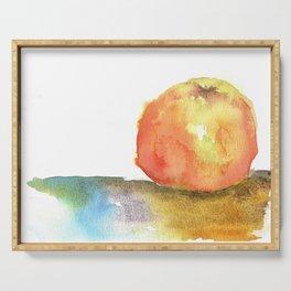 Watercolor Sketchbook: Honeycrisp Apple no.3 Serving Tray