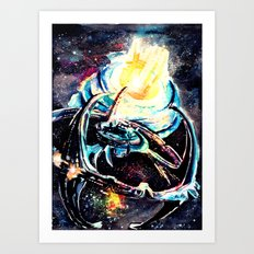 Deep Space Nine 2 Art Print