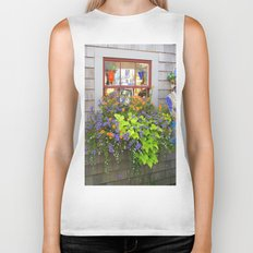 Nantucket Window box Biker Tank