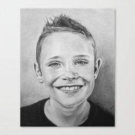 Portrait of Efrem Canvas Print