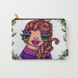 JennyMannoArt Colored Illustration/Rapunzel By JennyMannoArt Carry-All Pouch