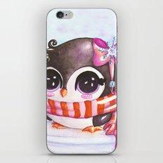 Snowy penguin  iPhone & iPod Skin
