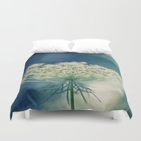 lace Duvet Covers featuring Lace by Sandra Arduini