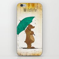 wildlife iPhone & iPod Skins featuring Wildlife by AhaC