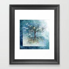 Cosmic Tree III Framed Art Print