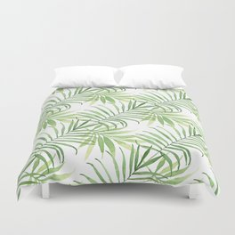 Tropical Branches Pattern 05 Duvet Cover