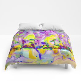 Abstraction of light Comforters