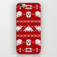 Merry Christmas A-Holes iPhone & iPod Skin