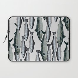 Tuna and Salmon Fish Design Laptop Sleeve