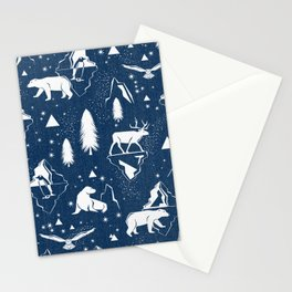Arctic Circle - Blue Stationery Cards