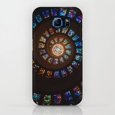 Stained Glass Swirl Slim Case Galaxy S6