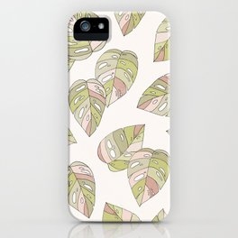 Dancing Leaves iPhone Case
