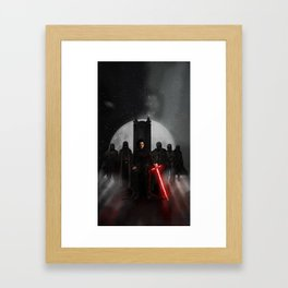 Supreme Leader And His Knights Framed Art Print