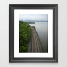 Train Tracks ... Framed Art Print