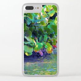 Mangrove Lagoon Clear iPhone Case